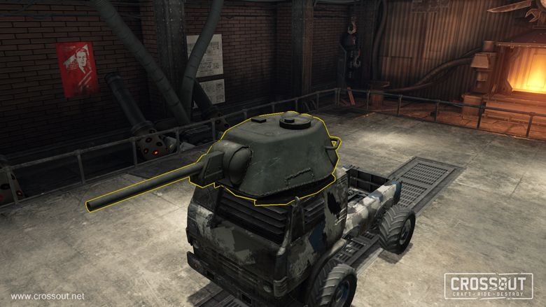 Crossout How To Craft Turrets