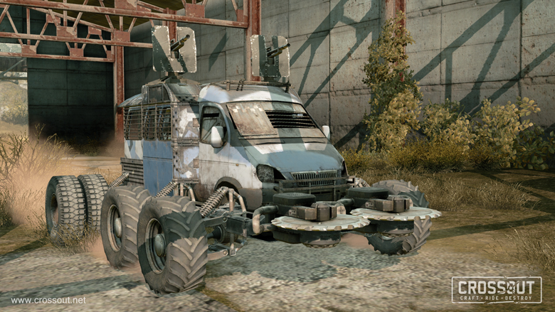 Build A Car Game >> Crossout F2p Mad Max Style Build Your Own Car Combat Game