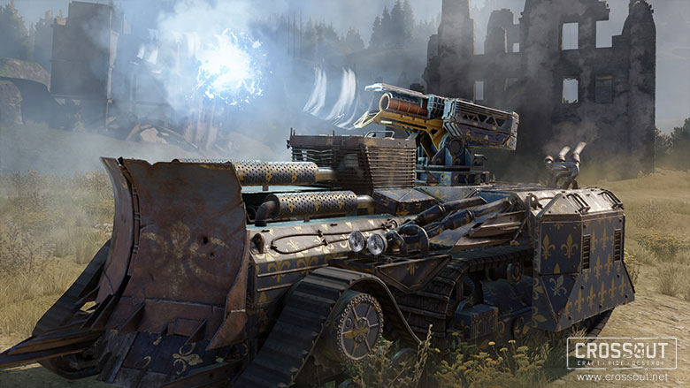 The Return of the Knight Riders - News - Crossout