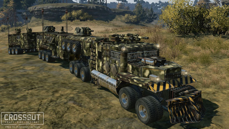 Van Build Out >> Two years since testing began - News - Crossout