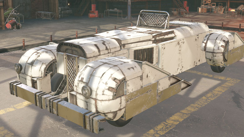 Retro armored cars from the exhibition - News - Crossout